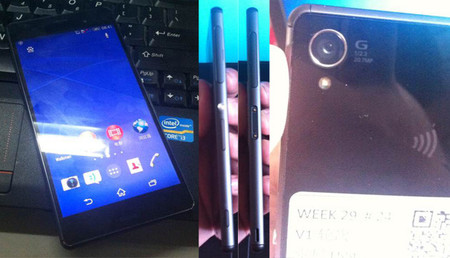 Las supuestas primeras imágenes del Sony Xperia Z3 salen a la luz