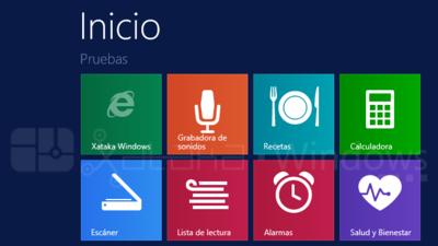 Las nuevas aplicaciones base de Windows 8.1