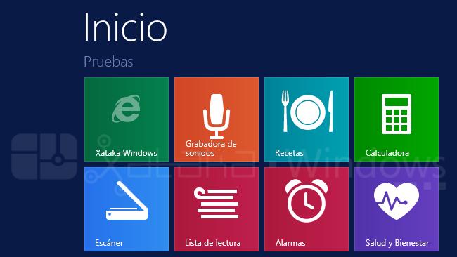 Aplicaciones nuevas en Windows 8.1