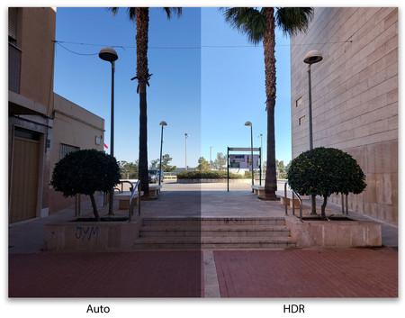 Samsung Galaxy S10 Lite auto versus hdr