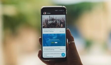 Ghost para Android: ya disponible la aplicación oficial con markdown y soporte total offline