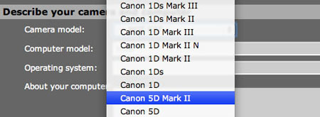 Canon EOS 5D ¿Mark II?
