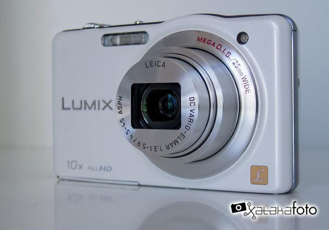 Panasonic Lumix DMC-SZ7 objetivo Leica