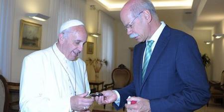 Papa Francisco y Dieter Zetsche