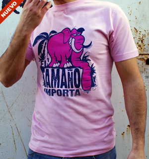 Camiseta El tamaño importa