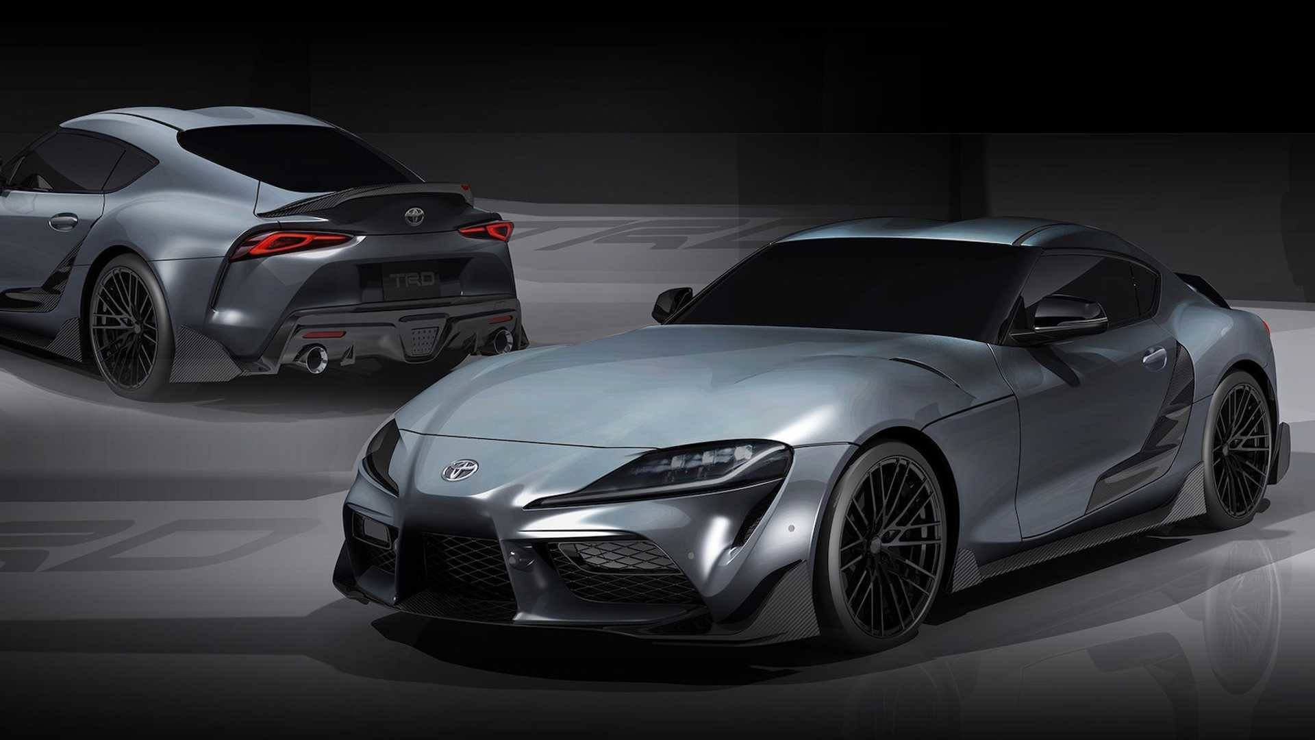 Foto de Toyota GR Supra Performance Line Concept TRD (1/7)