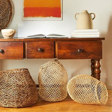 Las cestas o cestos más bonitos esta temporada para tu casa están en Zara Home
