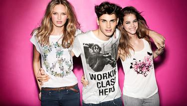 H&M y sus camisetas estampadas para la Primavera-Verano 2012