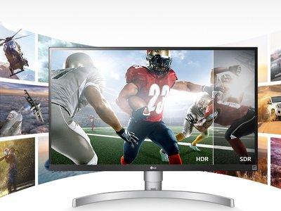 LG 27UK650-W, un monitor 4K para jugones que soporta HDR10