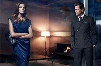 Hugo Boss Black, la elegancia personificada en Mark Vanderloo para este Otoño-Invierno 2011/2012