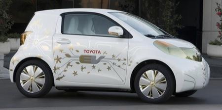 Toyota FT-EV, prototipo eléctrico basado en el iQ
