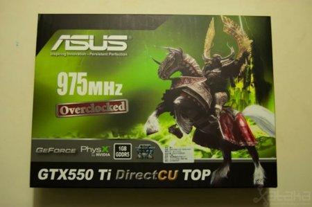 NVidia GTX 550 Ti box