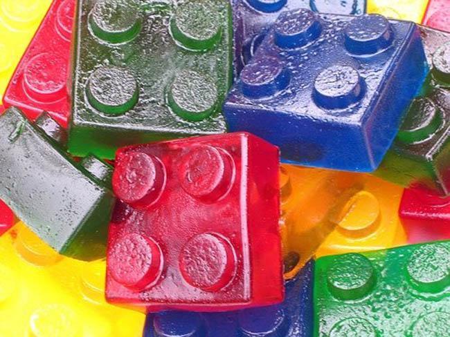 Bloques De Lego Como Moldes Para Gelatina