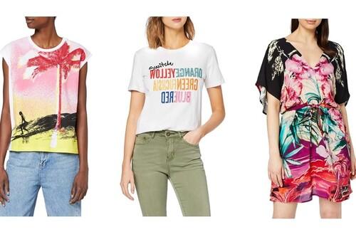 9 ofertas de Desigual en Amazon por menos de 25 euros: vestidos, camisetas y blusas a buen precio