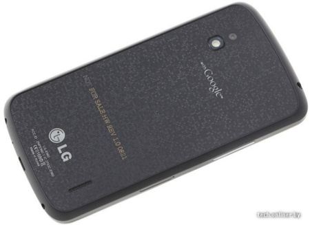 Nexus 4 parte trasera rumor