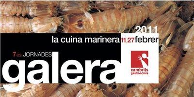 7ª Jornadas de la galera 2011 en Cambrils de Tarragona