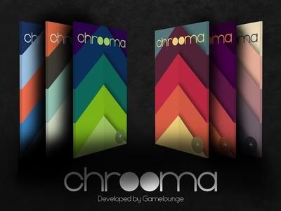 Chrooma, un juego de rompecabezas con Material Design