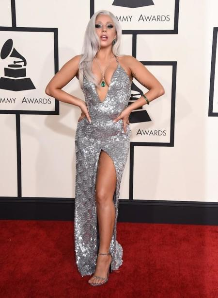 Lady Gaga Grammy 2015 1