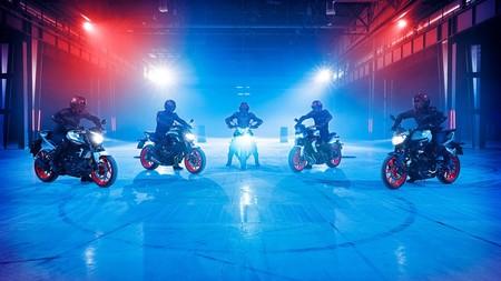La gama MT de Yamaha se pasa al Ice Fluo: hielo fluorescente para las naked de Iwata