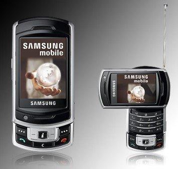 Samsung SGH-P930 con TV para Italia