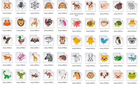 Android 11 Diseno Final Emojis Animales