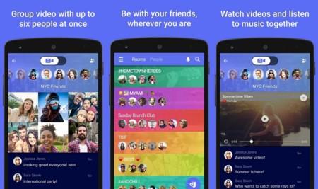 AirTime para Android, videochat y mensajería en grupos de seis