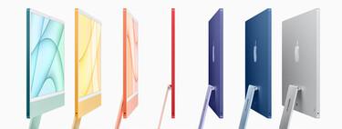 Los nuevos iMac recuperan el color de los primeros ordenadores Apple pero con una pantalla tan delgada como un móvil (o casi)