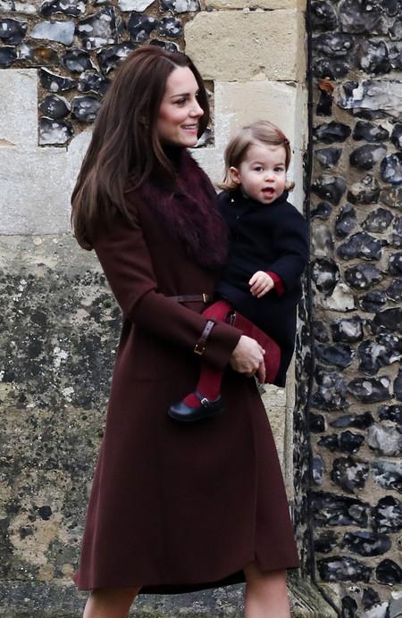 Kate Middleton En La Misa De Navidad