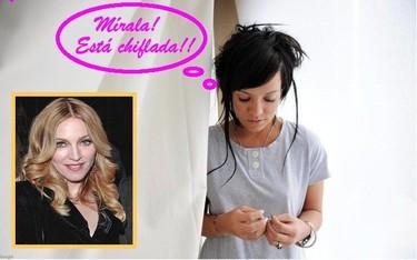 Lily Allen arremete contra Madonna