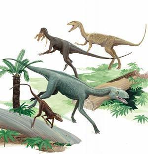 Dinosauromorfos: el lento ascenso de los dinosaurios