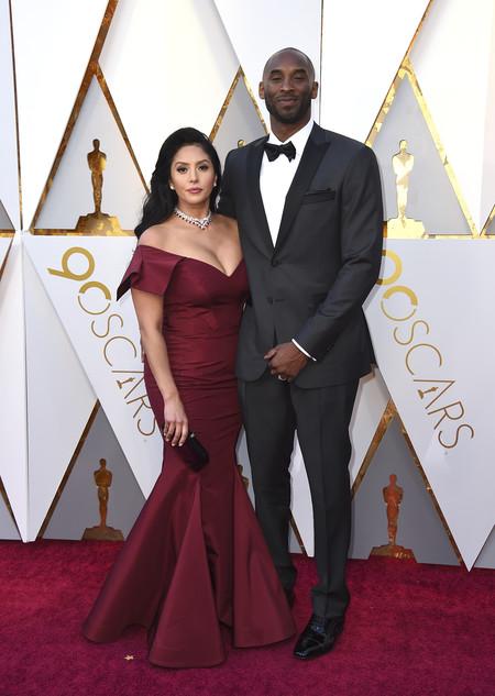 Oscars 2018 Kobe Bryant Y Vanessa Laine