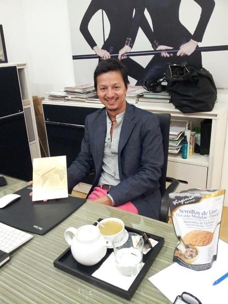 Entrevista a Eduardo Sánchez, con motivo del lanzamiento de su nueva marca homónima