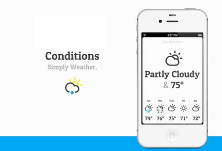 aplicaciones tiempo - conditions