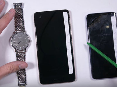 El cristal de zafiro del HTC U Ultra pasa por un duro test de resistencia, ¿lo superará?