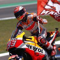 """Marc Márquez: """"Ha sido una carrera complicada, he ganado sin ser el piloto más rápido en pista"""""""