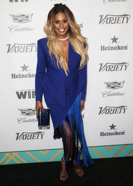 Laverne Cox pre emmy 2018