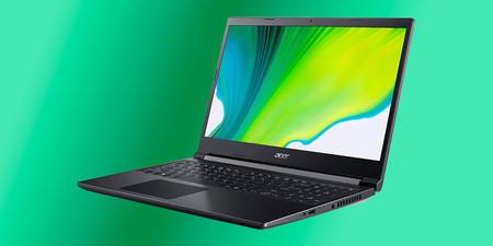 El Acer Aspire 7 rebajado a 599,99 euros en Amazon es un gran portátil para trabajar y jugar con NVIDIA GeForce GTX 1650
