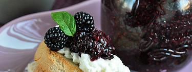 Mermelada de moras y semillas de chía: receta fácil, rápida y saludable que querrás comer a cucharadas