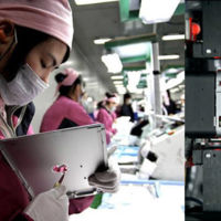 Foxconn reemplazó a más de 60.000 trabajadores por robots
