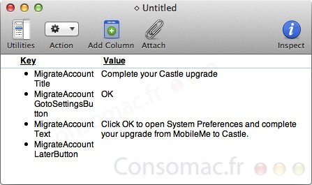 castle mobileme mac os x lion preferencias