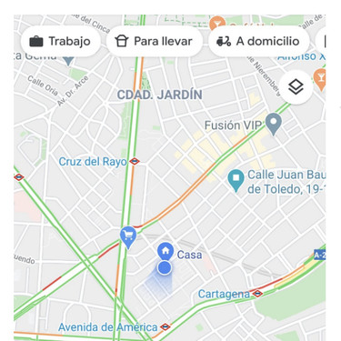 La nueva actualización de Google Maps destaca los restaurantes que sirven comida a domicilio o para llevar durante la pandemia