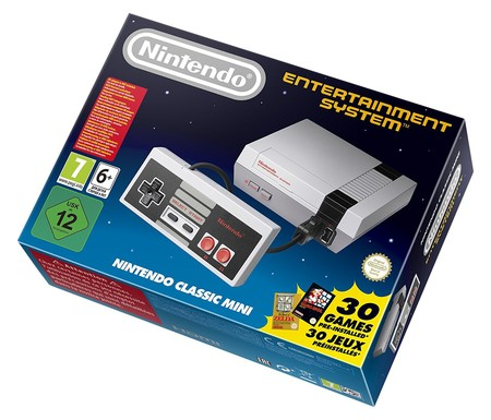 Consola retro Nintendo NES Classic Mini, con 30 juegos, por 48,95 euros en eBay