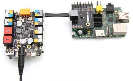 Nuevo shield de Makeblock para integrar tus robots con la Raspberry Pi