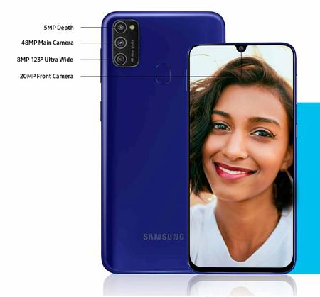 Samsung Galaxy M21 Camaras Traseras
