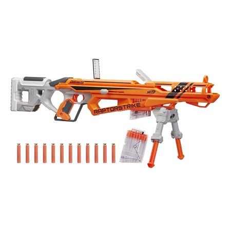 La pistola de dardos Nerf Elite Raptorstrike cuesta ahora 56,42 euros con envío gratis en Amazon