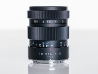 Meyer-Optik TRIMAGON 95mm ƒ/2.6, un objetivo diseñado para retratos