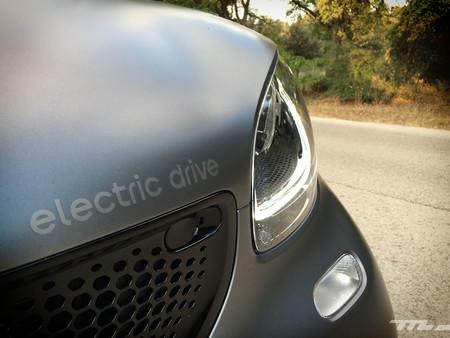 Smart Fortwo Eq logotipo electric drive