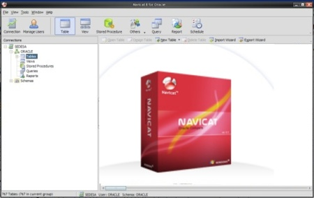 Repaso a Navicat 8 for Oracle