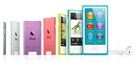 Los nuevos iPod Nano también se apuntan a una pantalla mayor