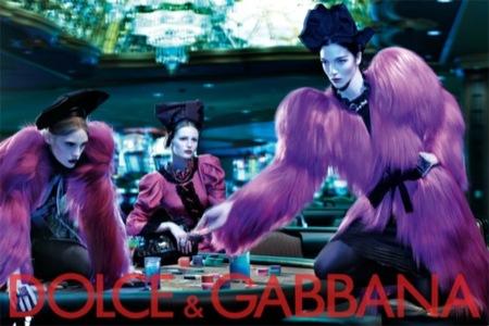 Dolce & Gabbana, campaña Otoño-Invierno 2009 por Steven Klein
